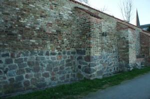 Bouldern Stadtmauer Rostock