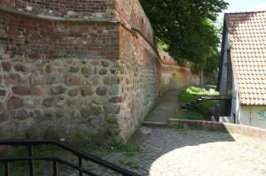 Bouldern Stadtmauer Klostergarten Rostock