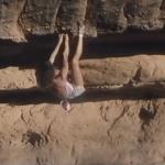 Catherine Destivelle klettert in Mali Free Solo