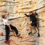 Klettern lernen beim Unisport der Uni Rostock