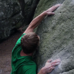 Nalle Hukkataival bouldert in Fontainebleau