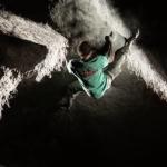 Bouldern bei Nacht