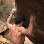 Jimmy Webb bouldert Sleepwalker (8c+/V16)